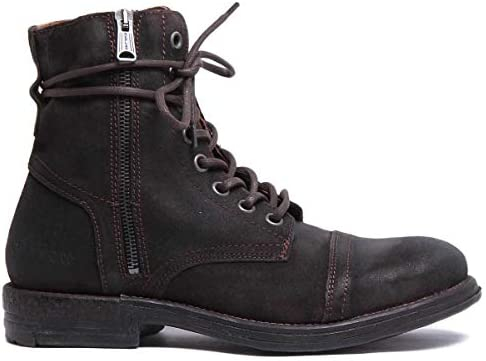 #Replay Donald Mens D/Brown Suede Leather Boots