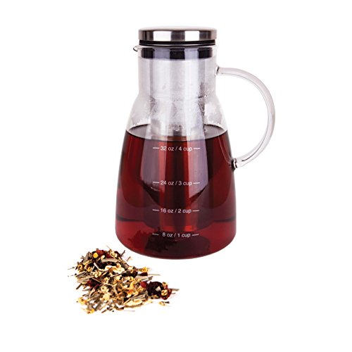 tea brewer with infuser - 2