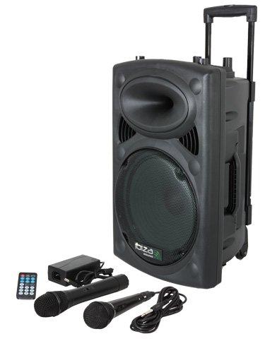 Ibiza PORTVHF BT Ibiza Sistema de sonido portátil y autónomo W color