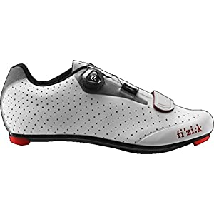 Fizik R5B Uomo Boa Shoe Men's White/Light Gray, 43.0