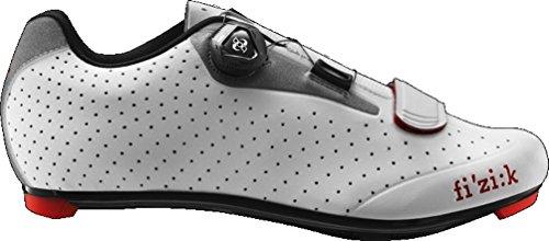 Fi'zi:k R5B Uomo Boa Shoe Men's White/Light Gray, 43.0