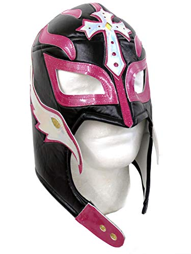 Leos Imports Rey Mysterio Adult Lucha Libre Wrestling Mask (Pro-Style) -