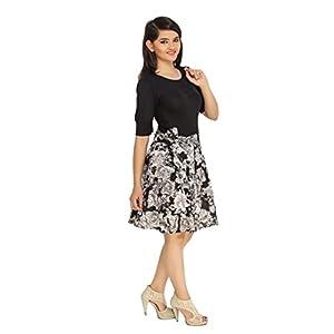 Cottinfab Women's A-Line Knee Long Dress