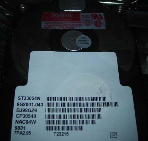 Seagate ST33054N 540MB FAST SCSI 50-PIN