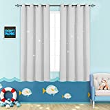 jinchan Nursery Blackout Curtains Kids Room