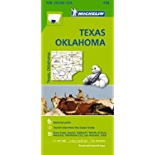 Texas Oklahoma - Zoom Map 176