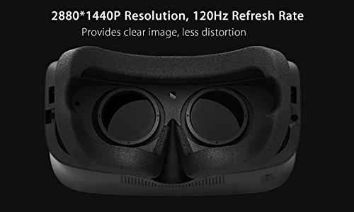 3Glasses Blubur S1 PC Virtual Reality System - 2880x1440 120Hz DisplayPort VR Headset by 3Glasses (Image #2)
