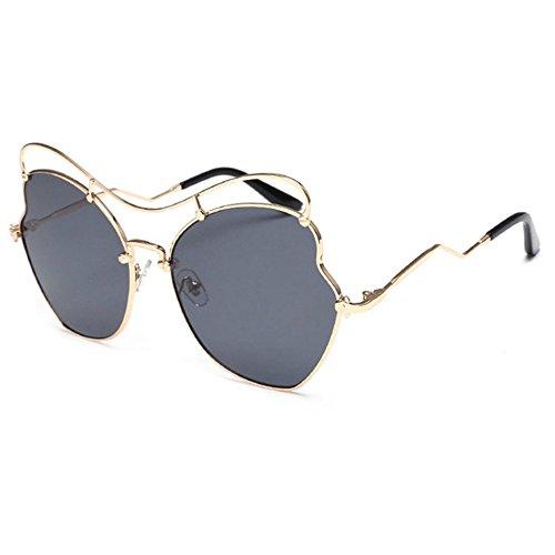 Aoligei Film couleur océan sans frame lunettes de soleil fashion diamants cadre métallique Dame lunettes de soleil mode lunettes de soleil KFb7ri