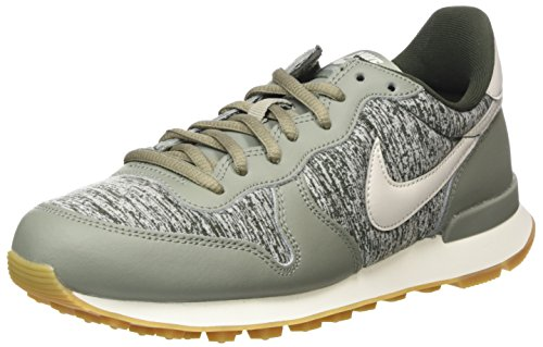 dark sequoia Light Nike Stucco light Internationalist Donna 022 Brown Bone Multicolore sail Sneaker gum IwCxw8q4