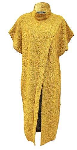 MKL Fashions - Jerséi - para mujer Mostaza