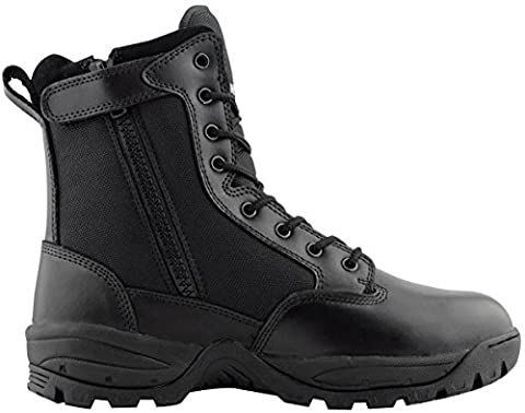 Maelstrom Men's TAC FORCE 8 Inch Military Tactical Duty Work Boot with Zipper, Black, 8 M US - Footwear Combat Boots