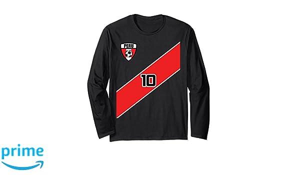 Amazon.com: Peru Soccer Shirt Futbol T-Shirt Jersey Peruvian Camiseta: Clothing