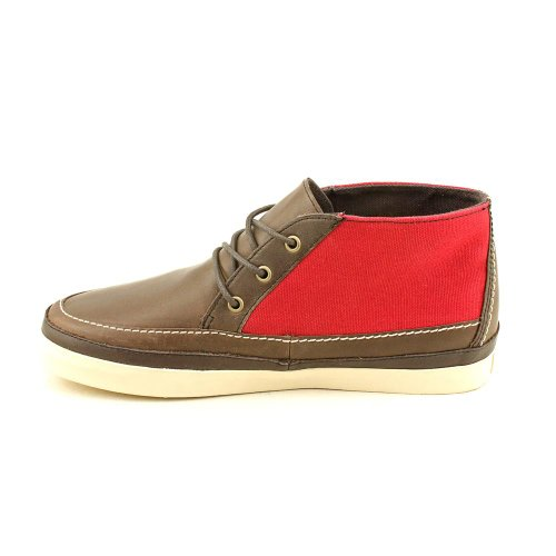Mesa Dark 79 Collection Brown Leather Vans Marron California Canvas Red dqTwxTaP