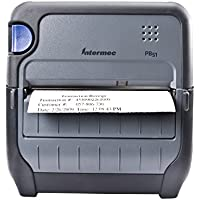 Intermec PB51B33004100 Series PB51 4 Direct Thermal Rugged Mobile Receipt Printer, Bluetooth, USB and Serial, Escape-P Command, 203 dpi, 4 ips