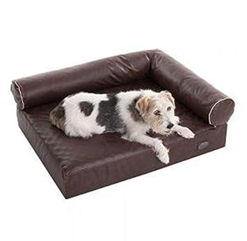 Cómodo ortopédica de espuma con efecto memoria para cama para perro w/extraíble, en