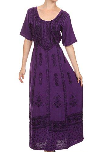Hippie Chic Maxi Dress - 8