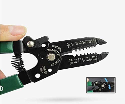 家の屋外の多目的電気技師ワイヤーカッターに適したプライヤーツール、7インチのストリッパーワイヤーカッター光ファイバーケーブルプライヤーセット