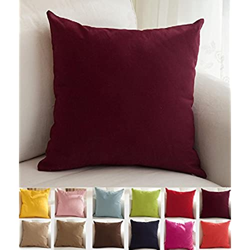 Burgundy Throw Pillows Amazon Com