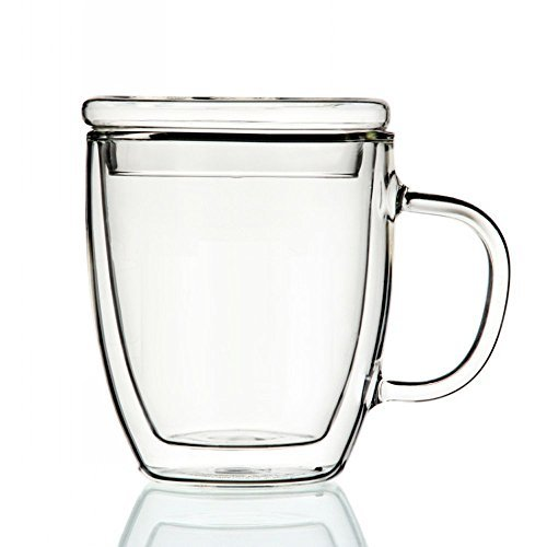 glass and metal coffee cups - 2
