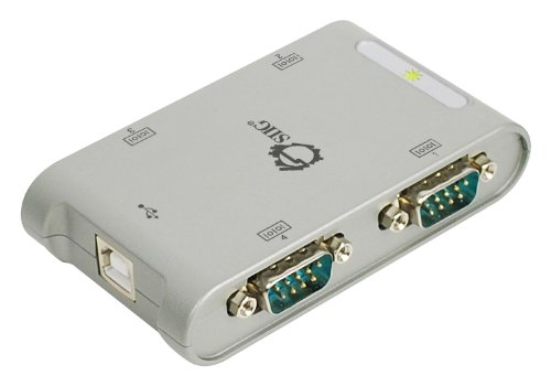 SIIG 4-Port USB to RS-232 Serial Adapter Hub (JU-SC0111-S1)