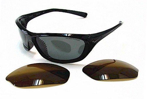 c0eb56efba3b Nike Veer EV0559 Sunglasses EV-0559 Black 001 Polarized Shades:  Amazon.co.uk: Clothing