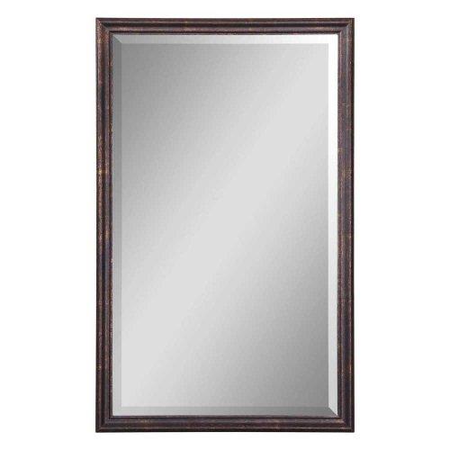 Renzo Vanity Wood Framed Mirror
