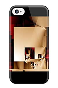 New Fashionable DanMarin RWqZxLl8509UthFJ Cover Case Specially Made For Iphone 4/4s(abstract) by icecream design