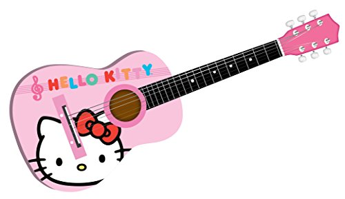 hello kitty 30 acoustic guitar colors may vary 88099 buy online in uae toys and games. Black Bedroom Furniture Sets. Home Design Ideas