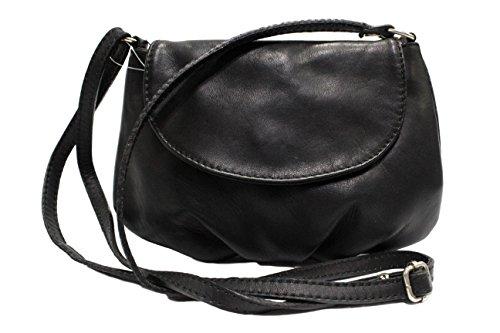 Noir sac cuir CHLOLY femme Petit Adriana BXa5nnq4wx