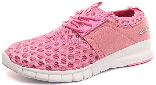 Gola Active Salinas Pink Womens Fitness Sneakers, Size 6 For Sale