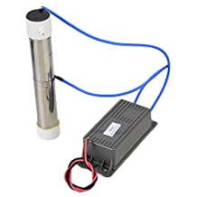BQLZR Grey Ozone Generator Ozone Quartz Tube for Plant Air Water Purfier Cleaner AC110V 3g/hr