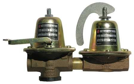 F3 Dual Unit - Bell & Gossett F-3 Dual Unit Pressure Reducing Valve with Fast Fill, 1/2