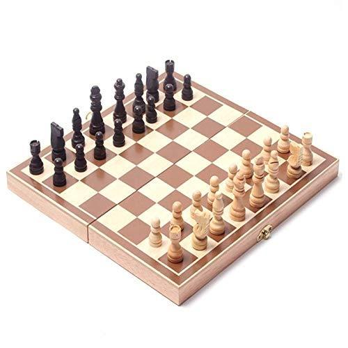 Ogquaton - Juego de postizos de madera internacional para juegos ...