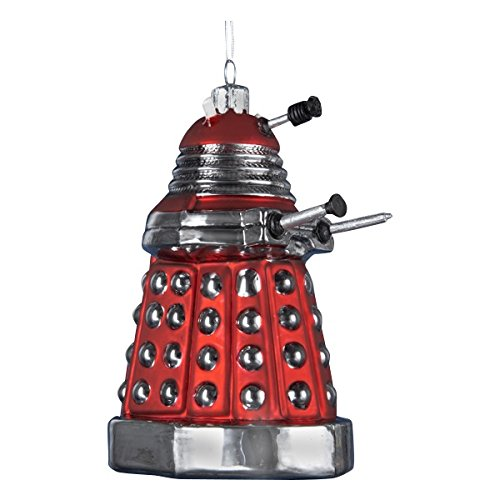 Kurt Adler 5-Inch Doctor Who Red Dalek Robot Ornament (Tree Dalek Christmas Who Doctor)