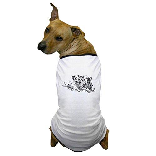 CafePress - Dalmation Puppies Dog T-Shirt - Dog T-Shirt, Pet Clothing, Funny Dog (Custom Dalmation Costumes)