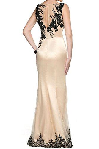 Charmant Damen Glamour Champagner Abendkleider Brautmutter Partykleider  Festlich Damenmode Mit Spitze