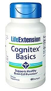 Life Extension, Cognitex Basics, 60 Softgels