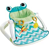 Fisher Price Sit-Me-Up Floor Seat, Citrus Frog , Multicolor