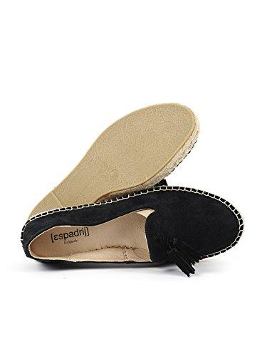 Espadrij loriginale Loafer Pom Pom Espandrilles Noir