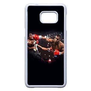 Muhammad Ali B1B2So Funda Samsung Galaxy S6 Edge Plus Nota 5 Borde caja del teléfono celular funda blanca L7T3GW fundas caja del teléfono personalizada