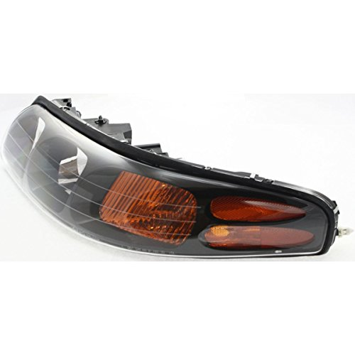 Pontiac Bonneville Headlight Lh Driver - Diften 114-A9588-X01 - 00-04 Pontiac Bonneville Headlight Headlamp LH Left Driver Side NEW