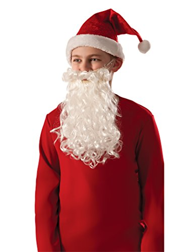 Rubie's Costume Child Santa Beard & Mustache]()