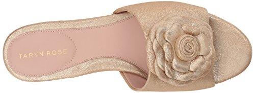 Shimmer Rose Gold Womens Sandal Rose Womens Taryn Taryn Metallic Slide Violet Violet xU5q00nfwP