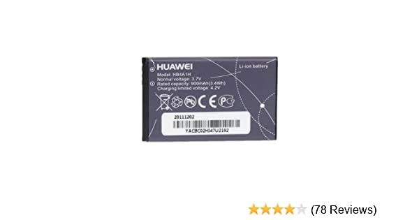 Amazon.com: Huawei HB4A1H Battery M318 U2800A Original OEM - Non-Retail Packaging - Black: Cell Phones & Accessories