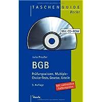 BGB: Prüfungswissen, Multiple-Choice-Tests, Gesetze, Urteile