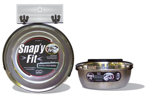 MidWest-Homes-for-Pets-Snapy-Fit-Food-Bowl-Pet-Bowl-20-oz-for-Dogs-Cats-Small-Animals
