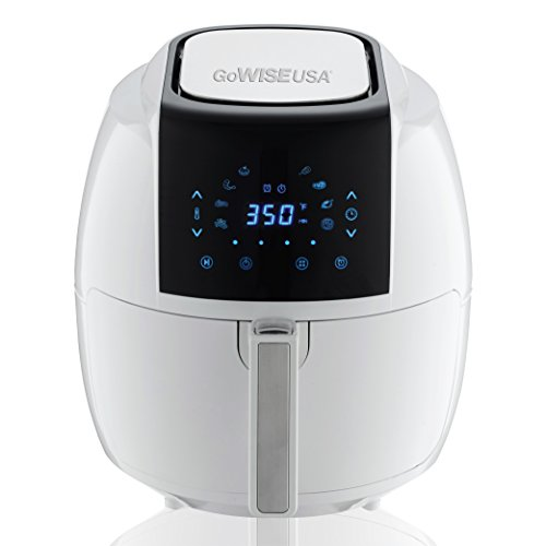 GoWISE USA GW22735 5.8-Quart 8-in-1 Air Fryer XL, QT, White by GoWISE USA (Image #1)