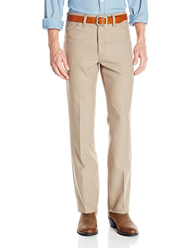 Wrangler Men's Wrancher Dress Jean, Tan, - Dress Khaki Pants Tan New