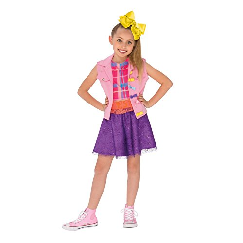 Rubie's JoJo Siwa Boomerang Music Video Outfit Costume, Multicolor, Large -
