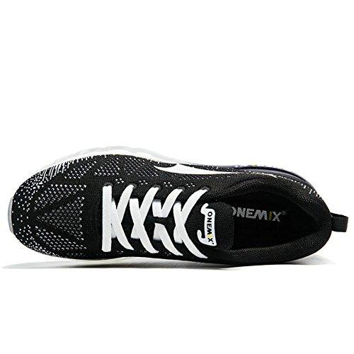 Onemix Scarpe Da Corsa Uomo Blackwhite